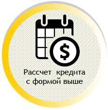 Рассчет  кредита под залог авто